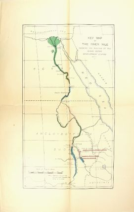 Nile control. A statement of the necessity for further control of the Nile to complete the development of Egypt and develop a certain area in the Sudan, with particulars of the physical conditions to be considered and a programme of the engineering works involved