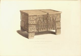 Specimens of ancient furniture drawn from existing authorities with descriptions by Sir Samuel Rush Meyrick K.H.