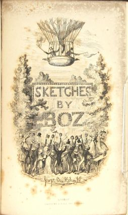 Sketches by Boz illustrative of every-day life and every-day people. With forty illustrations by George Cruikshank. New edition, complete