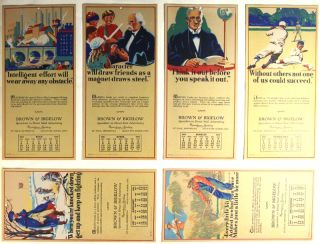 Mailing cards 1980-1920 [cover title in manuscript]