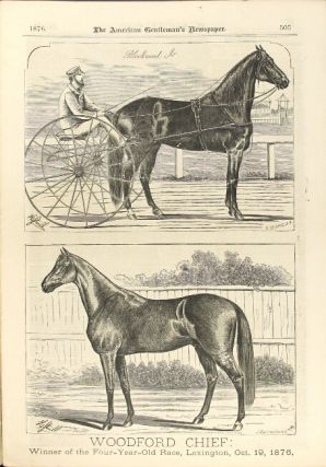 Spirit of the Times. A chronicle of the turf, field sports, aquatics, agriculture, and the stage. Vol. 92, no. 20