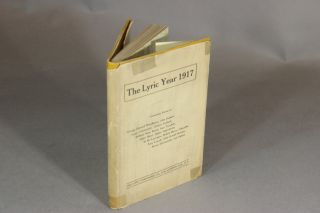THE LYRIC YEAR 1917 [jacket title]. Amy Lowell D H. Lawrence.